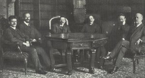 first government of the German republic