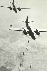 DB-7 Bostons of US 9th AF attacking a V-1 launching site