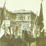 Nationalist demonstration in Rome to annex Fiume
