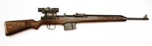 rifle 43 with rifle scope
