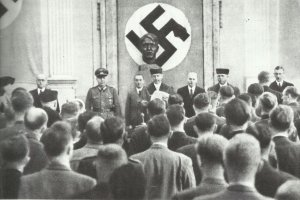 chairman of the People's Court, Roland Freisler
