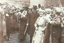 British Prime Minister Lloyd George