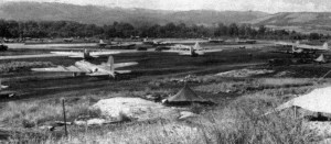 B-17 at Henderson Field, Guadalcanal