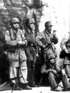German paratroopers Monte Cassino