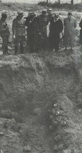 mass grave near Katyn