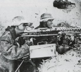 SS team of a MG 34