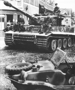 Tiger tank of the heavy tank detachment 101