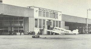 airport Tempelhof in 1928