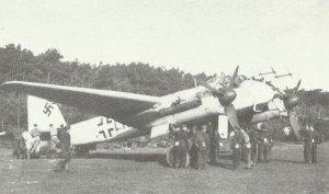 Ju 88G night fighters