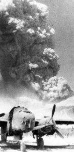 eruption of Mt Vesuvius 1944