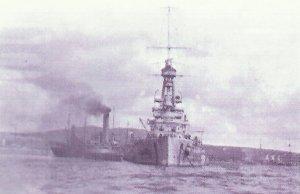 German battleship 'Baden'
