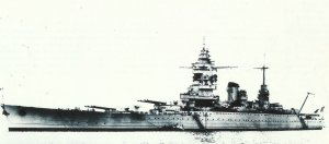 Dunkerque shortly before its completion