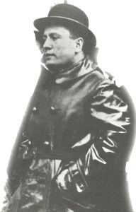 Benito Mussolini as leader of the Italian fascists