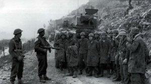 captured German Paratroopers Cassino