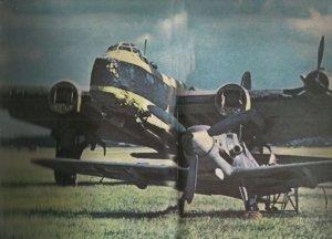 captured, emergency landed Stirling bomber