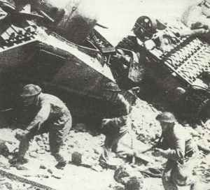 troops of the Polish 2nd Corps at Cassino
