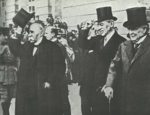 Council of Three  at Versailles.