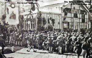 Greek 'Evzones' troops