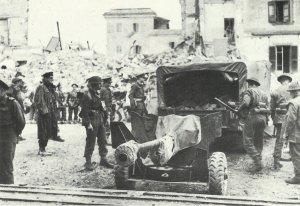 6-Pounder anti-tank gun Anzio