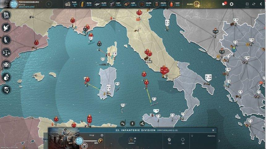 Sardinia and Corsica occupied