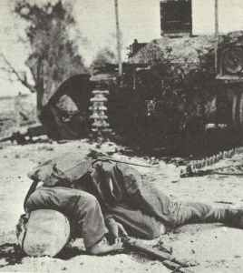 Killed Japanese on Saipan