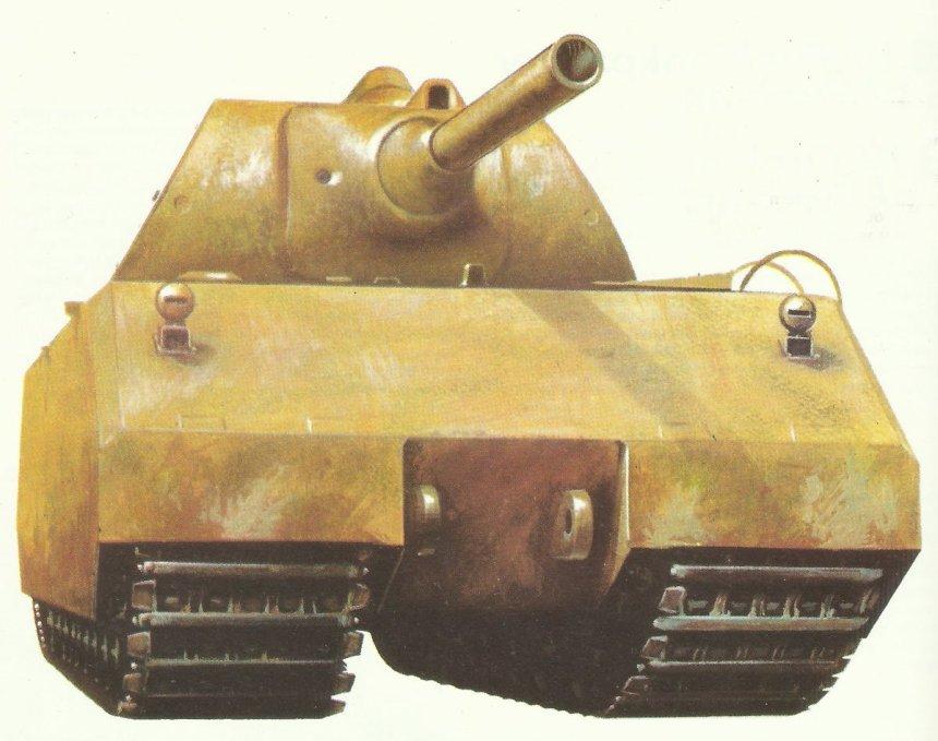 Super heavy battle tank Maus