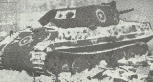 M10 converted Panther tank