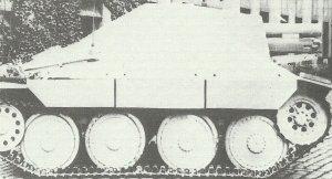 15cm sIG33/2(Sf) on Jagdpanzer 38(t) Hetzer