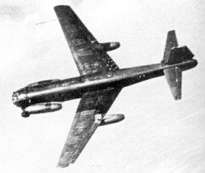 Ju 287 V1 in flight