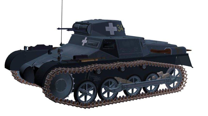 PzKpfw I Ausf A