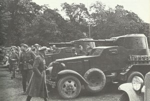 Germans and Russians at Brest Litovsk 1939