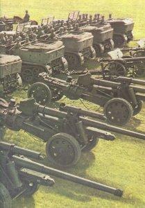 10.5 cm field long-range cannons