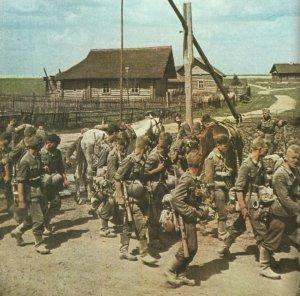 German infantry n Russia 1941