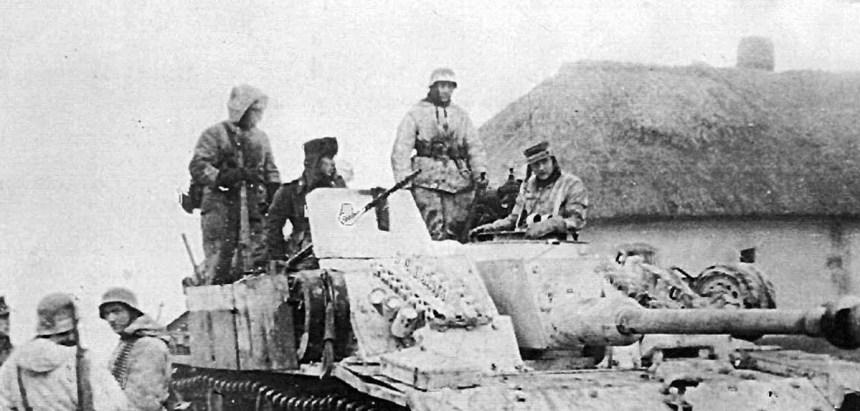 StuG assault gun of the II SS Tank Corps