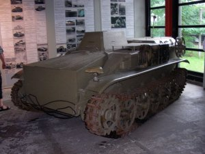 B IV radio controlled tank