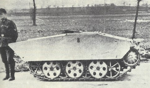 'Springer' with turret folded down