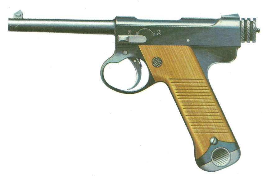 pistol Taisho 14 Nambu