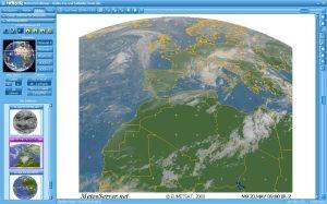MeteoViever Satellitenbilder