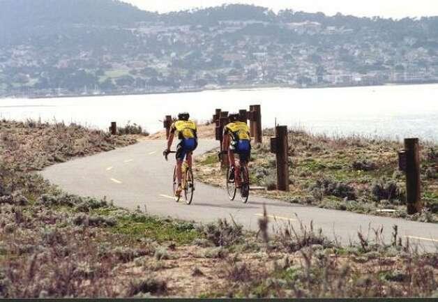 Biking at Monterey Bay