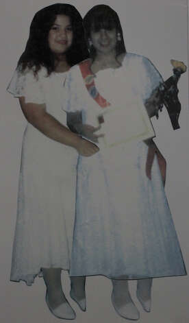 This is a composite image of Sarah Beth Gonzales (left) and her cousin Priscilla Almares (right) before they were murdered in 1994. Gonzales was 13 and Almares was 12 at the time of the murders. The man responsible for the murders, Ramon Hernandez, is scheduled to be executed on November 14, 2012. Hernandez, however, is being executed for murdering and raping another woman, Rosa Maria Rosado, 37, in 1994. This image was provided by Sarah Beth Gonzales' father, John Gonzales. Photo: JOHN DAVENPORT, San Antonio Express-News / © San Antonio Express-News