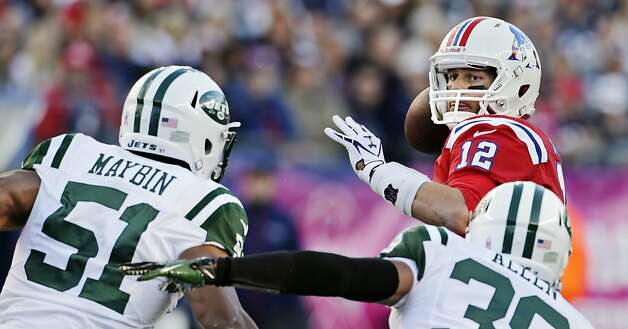 New England at NY Jets — 5:20 pm PST — NBC  Photo: Charles Krupa, Associated Press / SF