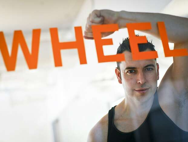 Carl Morley, fitness instructor and former tech exec, opened the Wheel House in Embarcadero Center in June for people like him. Photo: Russell Yip, The Chronicle