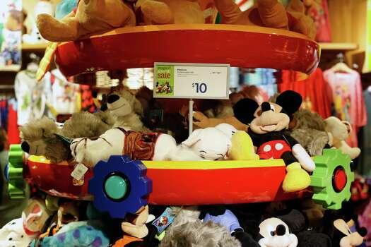 Todd Disney Plush Animals