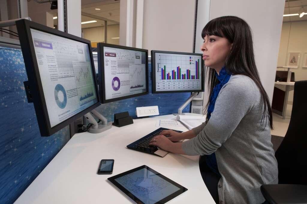 Resultado de imagem para financials office work computer