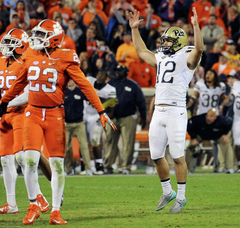 Pitt's Chris Blewit - game wining field goal stuns Clemson