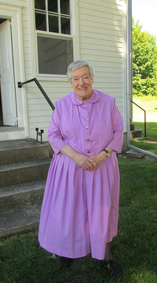 Sister Frances Carr, by Steve O'Connor. Courtesy of Maineshakers.com website