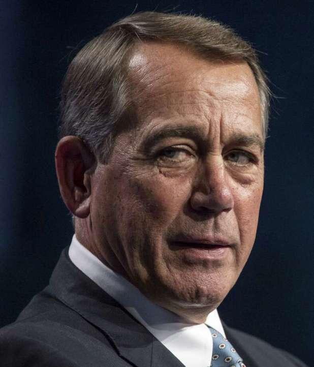 Former House John Boehner in Las Vegas on May 12, 2016. Photo: Bloomberg Photo By David Paul Morris. / © 2016 Bloomberg Finance LP