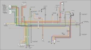necesito diagrama electrico de moto suzuki tc 185 año 1977