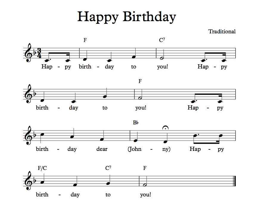 Judge Throws Out Publisher S Claim To Happy Birthday Copyright Kqed