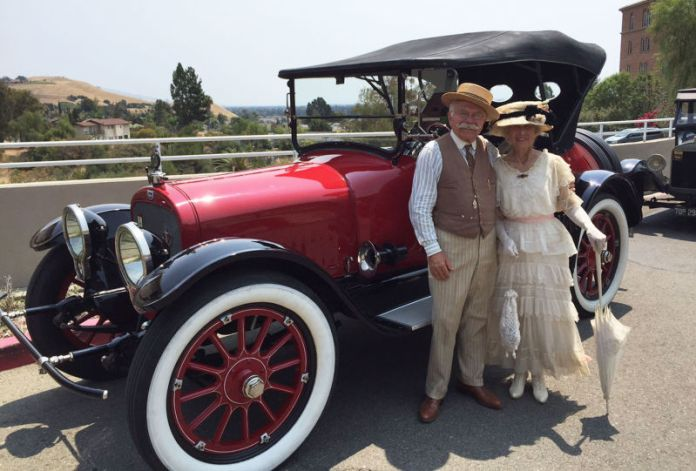 In A 100 Year Old Car It S All About The Journey Kqed
